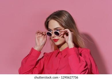 glamorous woman beauty fashion