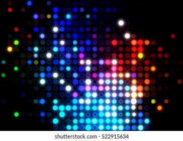 Glamour background of colorful lights