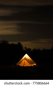 Glamping in England
