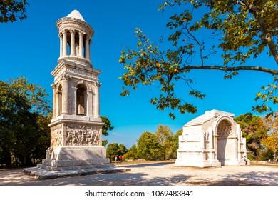 Glanum, Saint-Remy-de-Provence, Provence, France