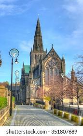 Glasgow cathedral aka High Kirk of Glasgow or St Kentigern or St Mungo