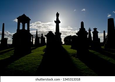 Glasgow Necropolis, Glasgow, Scotland, UK