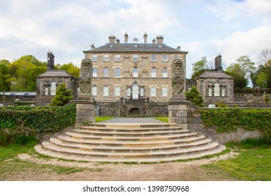 Glasgow Pollok Country Park, Scotland - 04 May 2019: Pollok House in Glasgow, One of Scotland's Grandest Edwardian Country Homes Currently Used for Weddings and Events