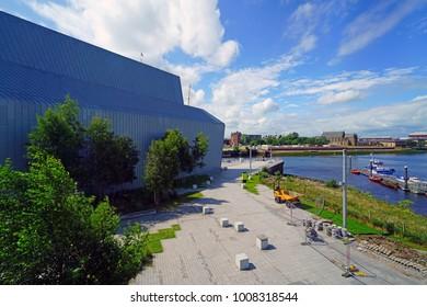 The Riverside Museum Glasgow Images Stock Photos Vectors