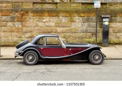 Two Cars Old Parked Sport Images, Stock Photos & Vectors | Shutterstock