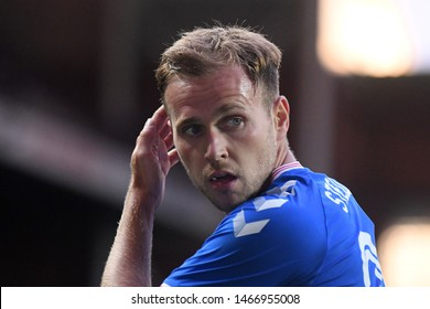 GLASGOW, SCOTLAND - JULY 18, 2019: Greg Stewart of Rangers pictured during the 2nd leg of the 2019/20 UEFA Europa League First Qualifying Round game between Rangers FC and St Joseph's.