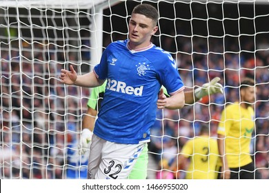 GLASGOW, SCOTLAND - JULY 18, 2019: Jake Hastie of Rangers pictured during the 2nd leg of the 2019/20 UEFA Europa League First Qualifying Round game between Rangers FC and St Joseph's.