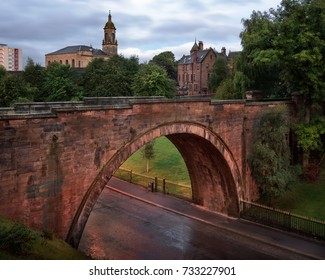 Glasgow Skyline in the Morning, Scotland, United Kingdom