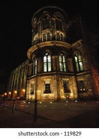 The Glasgow University & Hunterian Art Gallery. Originally Built In 1693.