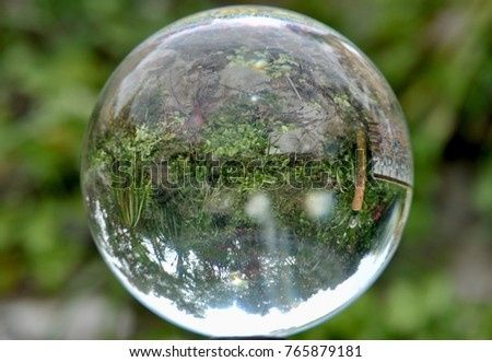 glass ball glass marble crystal glass stock photo edit now