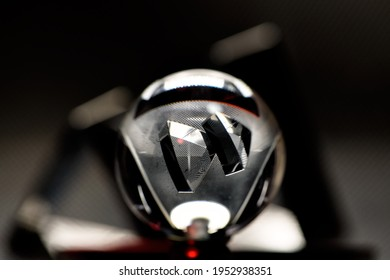 glass ball on the floor