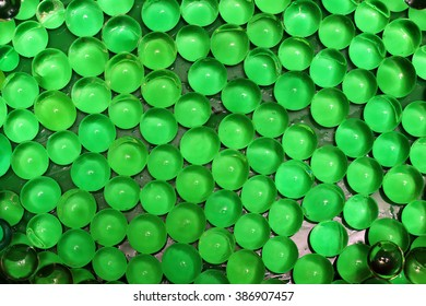 glass balls on a  background