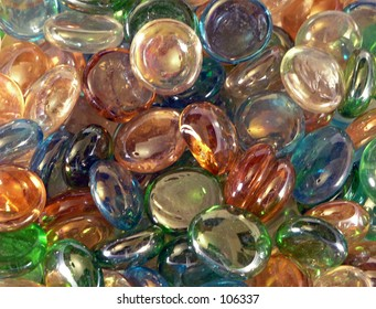Glass Bauble Background