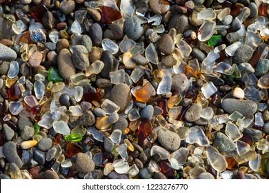 Glass Beach at Fort Bragg California