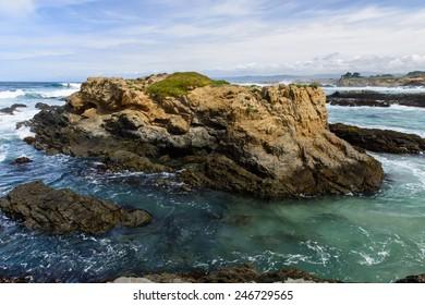 Glass beach. Fort Bragg, California. USA
