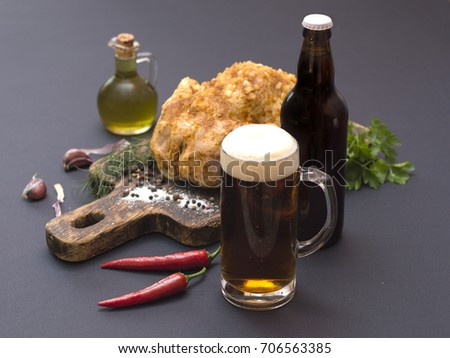 Marvelous Glass Beer Beer Bottle On Table Stock Photo Edit Now Alphanode Cool Chair Designs And Ideas Alphanodeonline