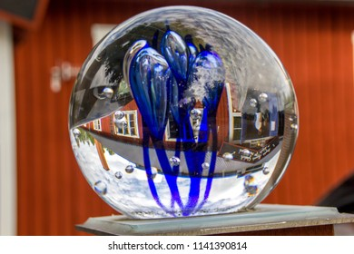 Glass blowing is a tradition and art in Sweden, especially in the region Smaland with a road of glassworks called Kingdom of Crystal (Glasriket), where that Swedish art can be seen and bought