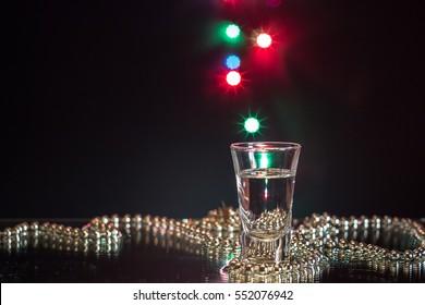 Glass and bokeh