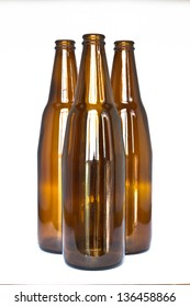 Glass bottle. The materials can be recycled again.