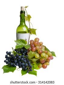glass bottle of wine
