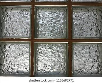Glass box decoration