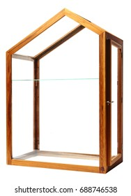 Glass Box isolated.