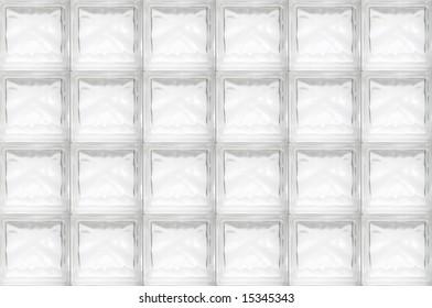 glass brick wall - seamless texture