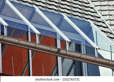 Glass Canopy of a modern residential Building