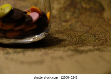 glass of chokolate