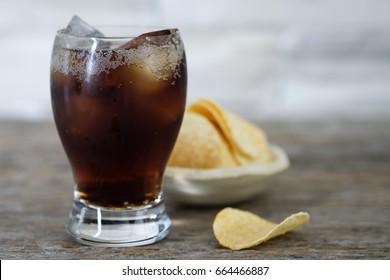 Potato Chips Splash Images, Stock Photos & Vectors