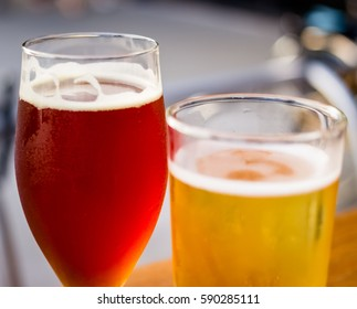 Glass of Craft Beer and Cider