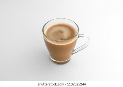 glass cup coffee