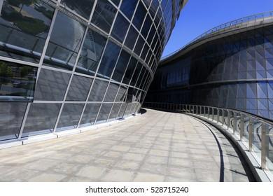 Glass Curtain Wall Construction