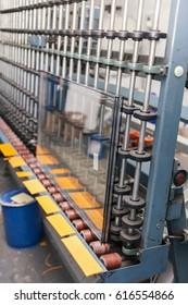 glass cutting machine in work shop