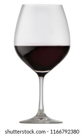 A glass of delicious red wine