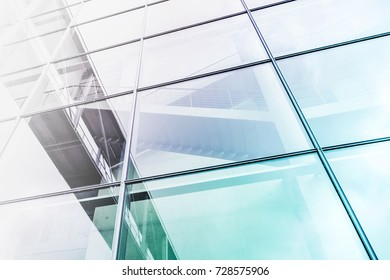 glass facade building exterior, abstract architecture background