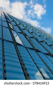 Glass Facade Building in New York City