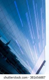 Glass Facade reflect building beside