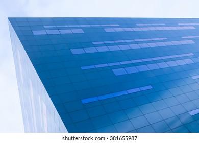 Glass Facade reflect the sky