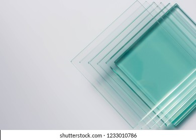 Glass Factory produces a variety of transparent glass thicknesses.
