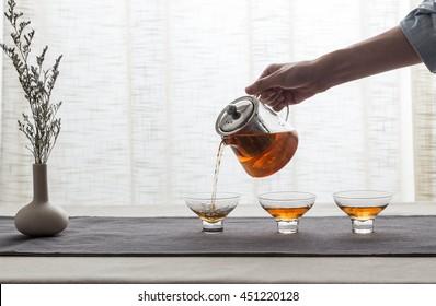 Glass filter kettle