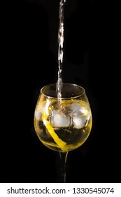 Glass of gintonic
