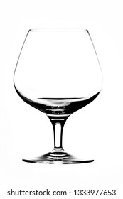 Glass goblet for liqueurs