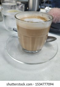 A glass of good coffee