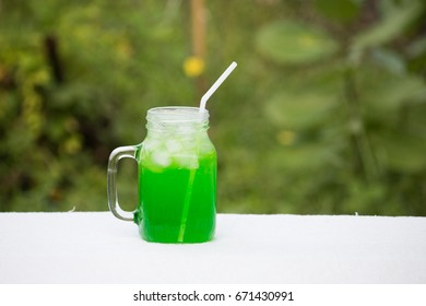 glass ice beverage cold color green garden