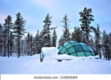 The Glass Igloo that gives you a cozy stay that you will remember it eternity at Lapland Finland