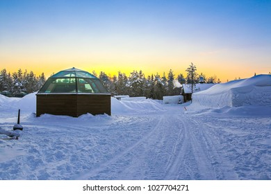 Glass Igloos - Arctic Snow Hotel at Lapland, Finland