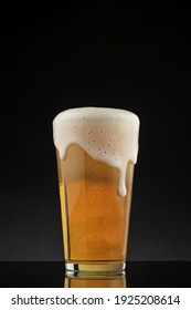 a glass of lager beer - Shutterstock ID 1925208614