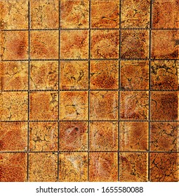 glass mosaic texture and beautiful stone for interior design, top view