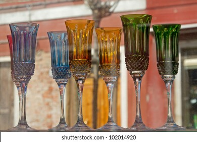 Glass of Murano, island near Venice